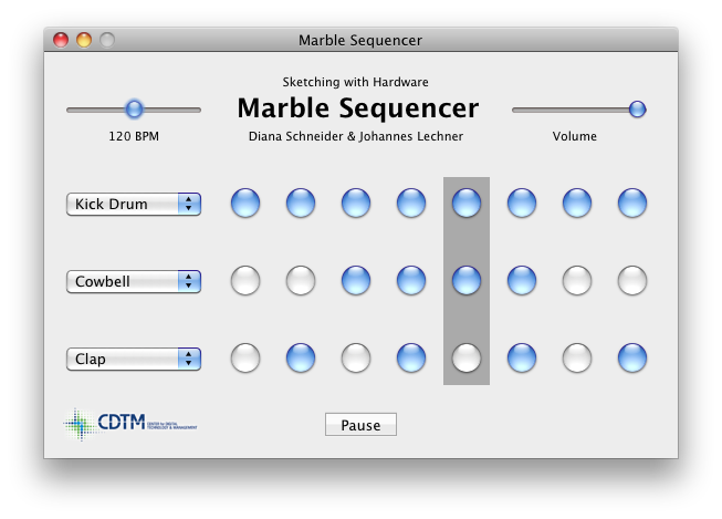 Marble Sequencer Desktop Software